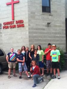 Our youth at Union Gospel Mission in Winnipeg, MB
