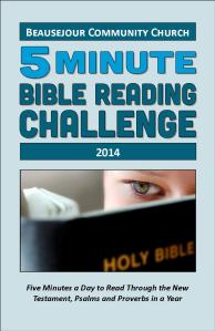 BOOKLET - Bible Reading Schedule