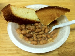 pinto beans with cornbread